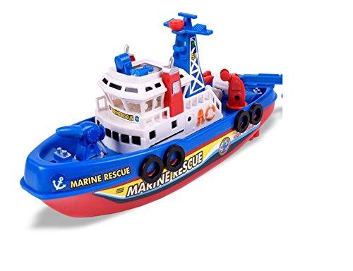 Fengge modelo de barco de bomba eléctrico flotante sobre el agua
