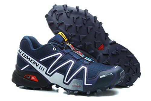Nuovi Uomini Scarpe da Corsa Salomon Speedcross 3 Outdoor Escursioni. (44 EU, Blu Scuro)
