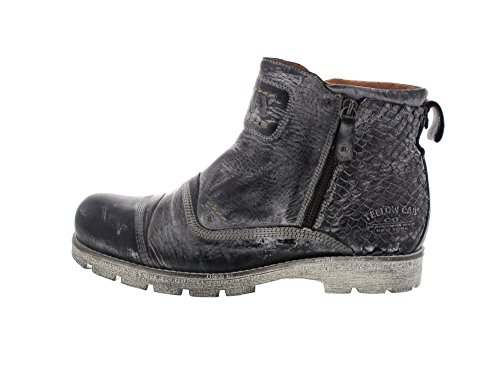 YELLOW CAB - Bottes NEW GEAR Y16067 - black Black