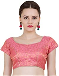 482c79d9838015 Amazon.in  Pinks - Blouses   Ethnic Wear  Clothing   Accessories