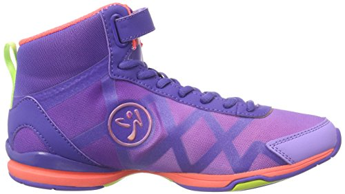 Zumba Footwear - Zumba Flex Ii Remix High, Scarpe Da Ginnastica da donna Viola (purple/neon orange)