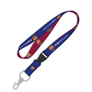 FC Barcelone avec Ticket avec dragonne/porte-Badge d'identification