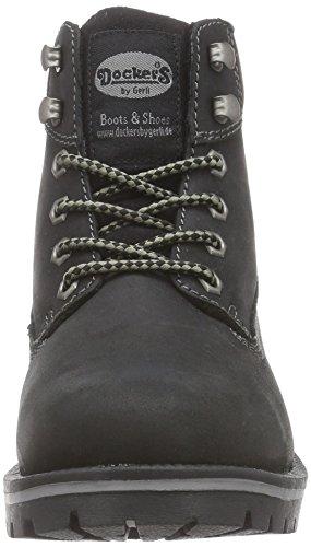 Dockers by Gerli 35AA303-400100 Damen Combat Boots Schwarz (schwarz 100)