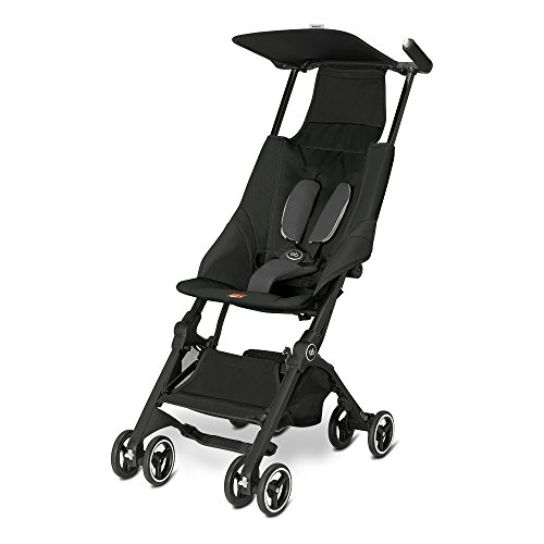 faltbarer kinderwagen Gb Gold Pockit Buggy, monument black