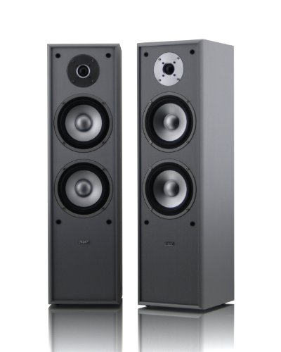 mohr 1 Paar Standlautsprecher SL10 silber, Lautsprecherboxen, HiFi Klang zum günstigen Preis