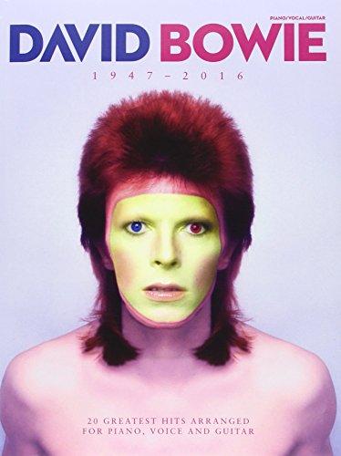 David Bowie 1947 - 2016: Songbook für Klavier, Gesang, Gitarre