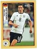 Panini McDonald´s Sticker M8 Julian Draxler UEFA EURO 2016 FRANCE