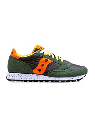 Saucony , Herren Outdoor Fitnessschuhe Grün/Orange 41 Grün/Orange