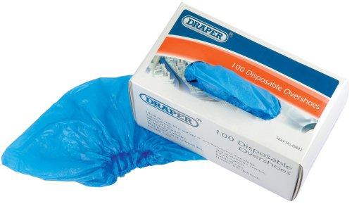 Draper 45842 - Copriscarpe monouso, 100 pezzi