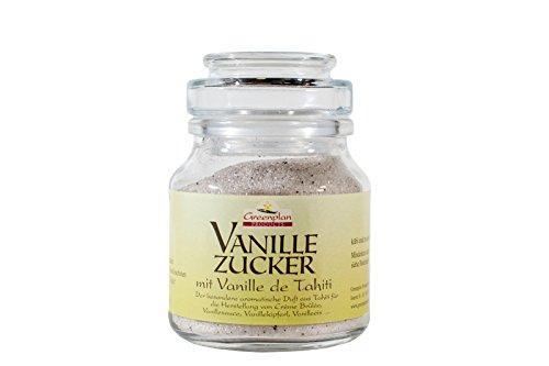 Greenplan Products - Vanillezucker mit Vanille de Tahiti - 150g