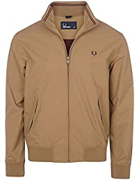 Fred Perry Hommes Veste Brentham Ripstop Bronze
