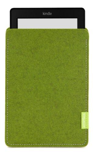 WildTech Sleeve für Kindle Paperwhite - 17 Farben (Handmade in Germany) - Farn