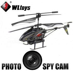 WLtoys S977 Mini Hélicoptère Radiocommandé RC 3.5 Voies RTF avec