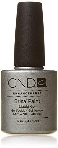 CND Traitement Brisa Paint Gel Liquide Pure White Opaque 43 oz