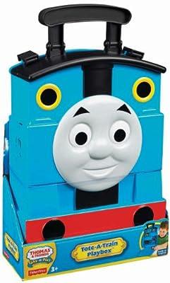 Thomas & Friends - Maletín pista portátil, accesorios para tren de juguete (Mattel Y3781) por Mattel