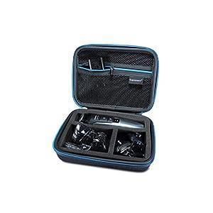 Supremery Tasche für Philips QG3398/15 Multigroom-Set Case Schutz-Hülle Etui Tragetasche