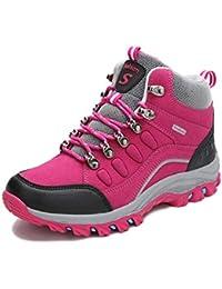 tqgold® Scarpe da Trekking Uomo Donna Scarpe da Escursionismo Impermeabile  Stivali da Arrampicata All  ac223239393