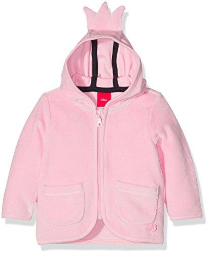 s.Oliver Sweatshirt-Jacke, Felpa Bimbo, Rosa (Light Pink 4140), 9 mesi