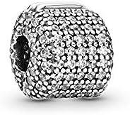 Pandora Women Silver Bead Charm - 791873CZ