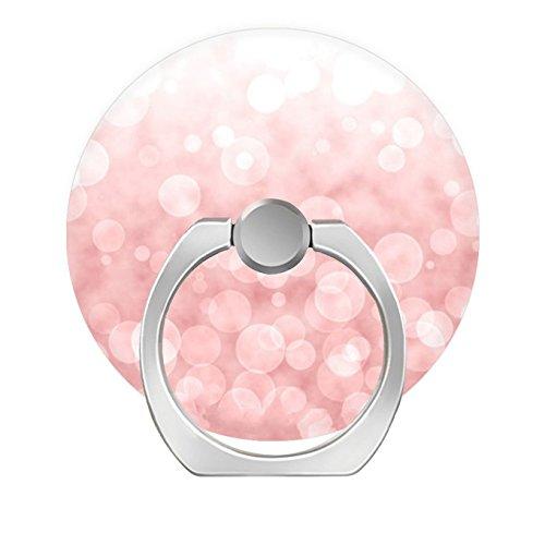 zoyaley-Phone Finger Ring Halter Ständer für Smartphone Tablet und Handy Auto Mount-Blush Pink Glitter