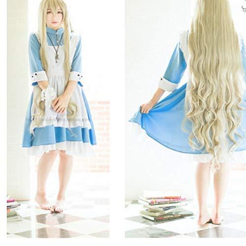 Sakura Kostüm Anime - Butterfly BB Anime um Yang Yan Sakura Jasmin Magd Kostüm Cosplay Kostüm Kleidung Kellnerin Magd,M