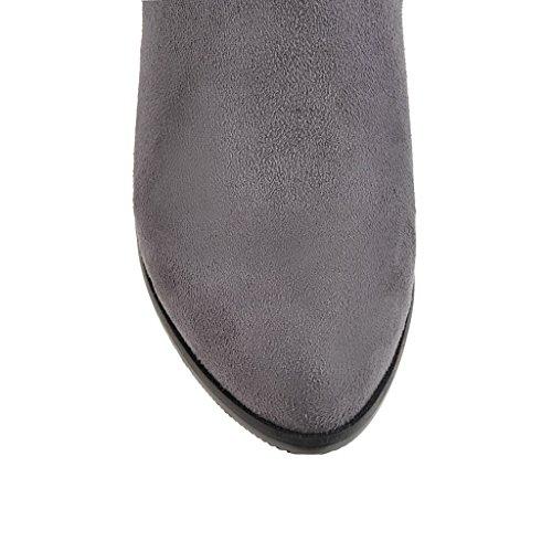BalaMasa  Abl09650, Sandales Compensées femme Gris