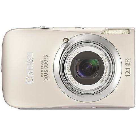 Canon Digital Ixus 990 Is - Fotocamera Digitale - Compatta - 12.1 Mpix - Zoom Ottico: 5 X - Memoria Supportata: Mmc, Sd, Scheda Di Memoria Sdhc, Mmcplus