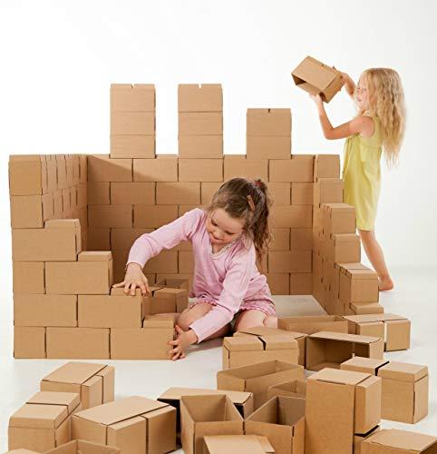 Gigi Bloks Bloques de Construcción Gigantes de Cartón | Juegos de Construcción para Niños 60...