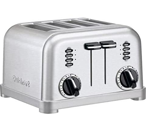 Grille Pain Professionnel - Cuisinart CPT180E Toaster 4 fentes extra larges,