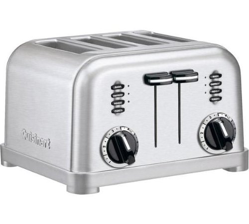 Cuisinart CPT180E Toaster 4 fentes extra larges, 1800 W, Acier...
