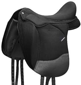 """Selle WINTEC Pro Dressage CAIR avec Contourbloc(R) - noir - 18""""/46cm"""