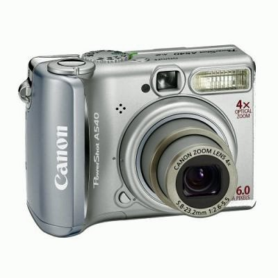 Canon PowerShot A540 Digitalkamera (6 MP) A540 Digital Camera