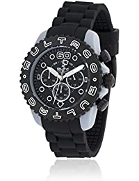 Bultaco Reloj Reloj Speedcity 45 Chrono Grey Black Negro