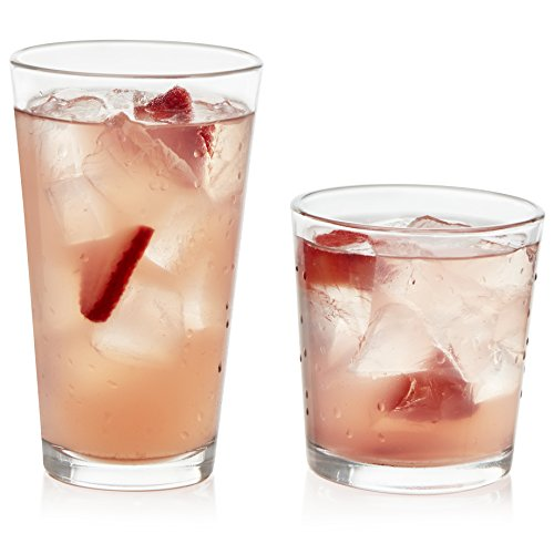 Libbey Drinkware Glas Set, 16-pc Combo Libbey Tumbler Set