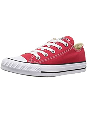 Converse Chuck Taylor All Star Core Ox, Zapatillas Infantil, Rojo, 30 EU