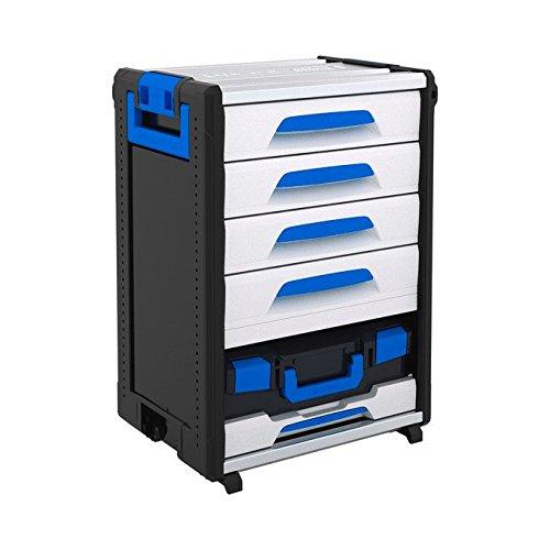 Sortimo WorkMo 24-750 inklusive 4 Schubladen, 1 Multislide, 1 L-BOXX 136 leer, 1000004446