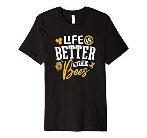 (Amazing Life Is Better With Bees Awareness T-shirt)