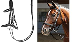 Harry's Horse 28000002–05 x-Full Bridon/licol – x – FULL, XL, Noir