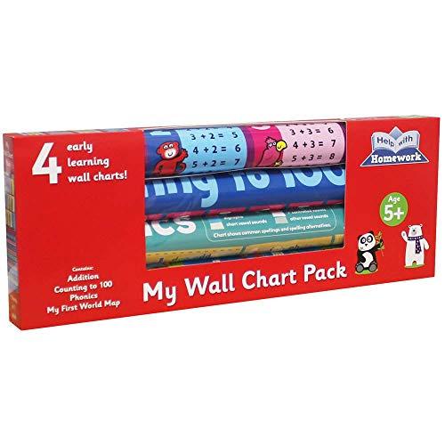 Autumn Publishing My Wall Chart-Set für Kinder ab 5 Jahren