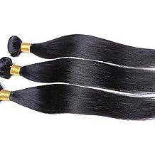 """JFF/ 1pcs / lot precio barato 8 """"-26"""" virginales brasileñas tramas del pelo recto natural negro 1b # mechones de cabello humano , 26 inch-natural black"""