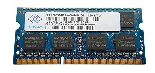 Nanya 4GB DDR3 Memory SO-DIMM 204pin PC3-12800S 1600MHz