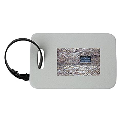 Window, Wall, Old, Building, Stone luggage tag