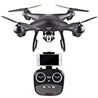 MMLC S70W 2.4GHz GPS FPV Drone Quadcopter with 1080P HD Camera Wifi Headless Mode RC Helicopter by MMLC