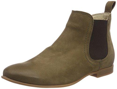 Tamaris Damen 25334 Chelsea Boots, Grün (Olive), 40 EU (Oliven-boot)