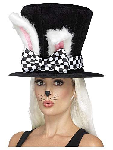 Aus Wunderland Kaninchen Kostüm Das Alice Im - shoperama Alice im Wunderland Teeparty Märzhase Zylinder mit Hasenohren Kostüm-Zubehör Hut