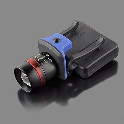 Lixada XPE LED 120 Lumen 3 Modi wasserdicht zoombaren Clip-on Cap Hut Licht Scheinwerfer Scheinwerfer