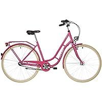 Ortler Detroit 3s EQ - Bicicleta Holandesa - Rojo Berry 2018 Bicicleta Urbana