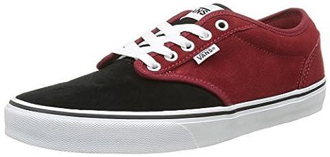 Vans Men's Atwood Low-Top Sneakers, Red (Varsity Red/Black), 7.5