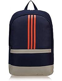 adidas–Adidas Mochila azul M66767–tamaño único, color azul