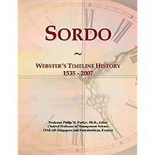 Sordo: Webster's Timeline History, 1535 - 2007